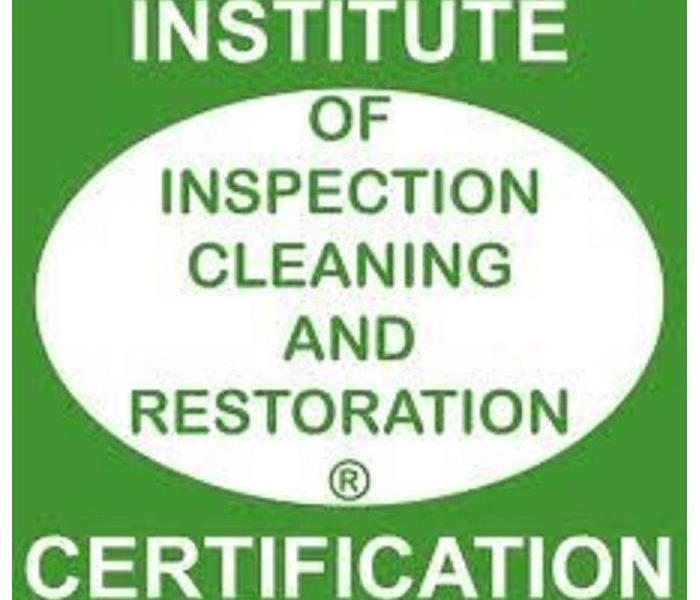 Why SERVPRO We're an IICRC certified team.